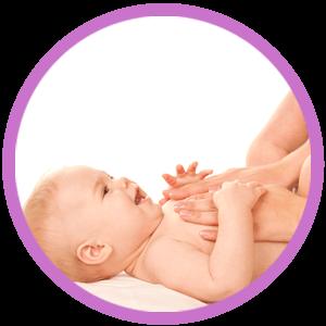 Masáž, ktorá dieťatku prinesie úľavu